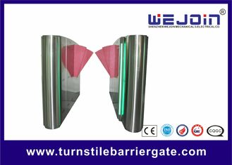 Kanat 600mm SST 304 Tam otomatik Flap Turnike Bariyer