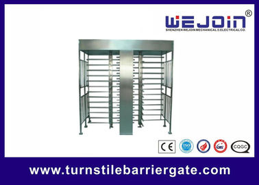 Çin Stainless Steel Full Height Access Control Turnstile Gate CE Approved Fabrika