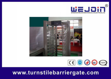 Çin Electronic pedestrian barrier gate / Subway Access Control Turnstile Gate Fabrika