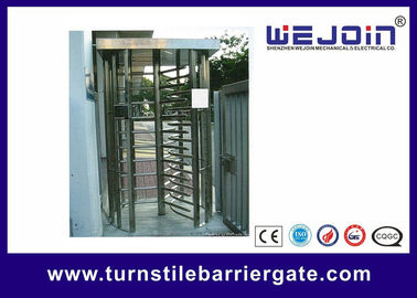 Çin 304 / 201 Stainless Steel Smart Card Access Control Turnstile Gate Fabrika