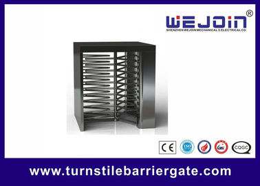 Çin Counter Full Height Turnstiles pedestrian barrier gate With Control Panel Fabrika