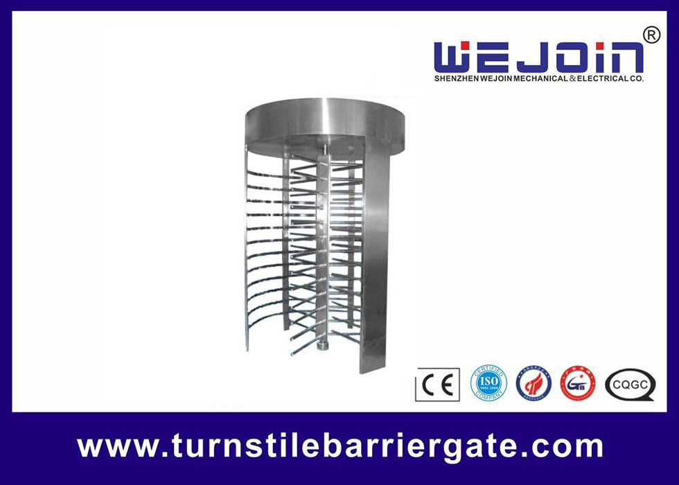 High Speed Full Height Access Control Turnstile Gate With Emergency - scape Tedarikçi